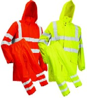 LR40552 Microflex Hi-Viz Rain Jacket and Trousers