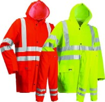 LR552 Microflex Hi-Viz jacket and trousers