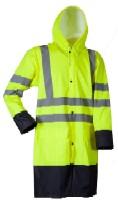 LR8030 Microflex Hi-Viz Rain Jacket