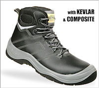 Composite: SJ-Power1 All Purpose safety shoe : S3 EN 20345<br><b>Metal free</b>