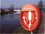JO-SOS7 560mm lifebuoy + throwing line (industrial/marine)