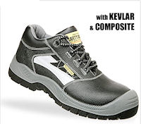 Composite: SJ-Thyphoon All Purpose safety shoe : S3 EN 20345<br><b>Metal free</b>