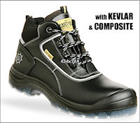 Composite: SJ-Cosmos S3 SRC All Purpose safety shoe : S3 EN 20345 <br><b>Metal free</b>