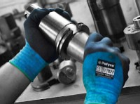 General Duty gloves: Polyflex® MAX KC Knitted nylon liner with a foamed nitrile knuckle coating