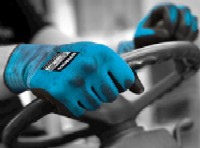 General Duty gloves: Polyflex® MAX PC Knitted nylon liner with a foamed nitrile palm coating