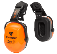 Helmet Mounted Ear Muffs : Zone Helmet Mounted