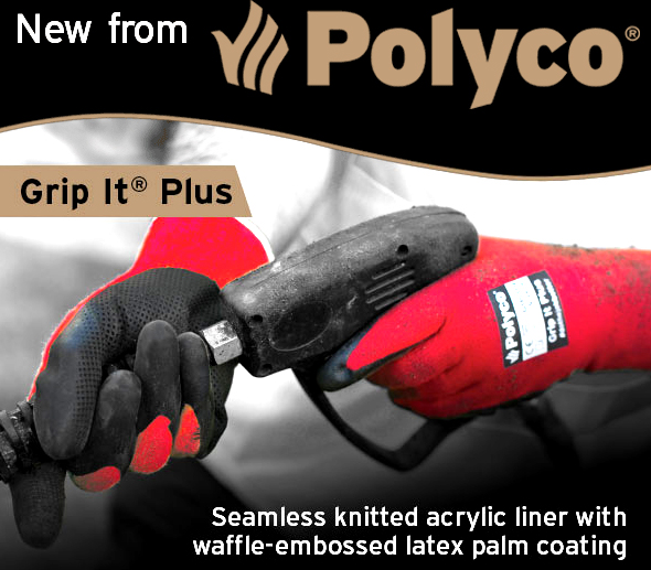 Polyco introduces the new Grip It® Plus