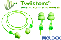 NEW MOLDEX TWISTERS!